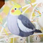 セリア小鳥カレンダー2015買いました!